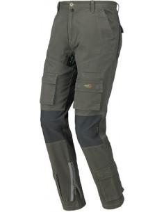 Pantalon stretch on verde/negro 8738 t-xxl de starter