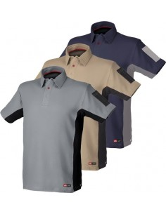Polo stretch gris/negro 8170 t-xl de starter