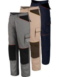 Pantalon shot beige/marron 8930c t-l de starter