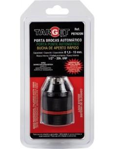 Portabrocas automatico metal 1/2-20/1-13 pb7620n bl de target