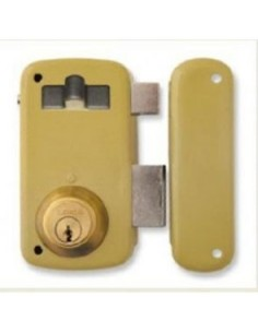 Cerradura 5056-a/70i hierro esmaltado de lince