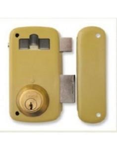 Cerradura 5056-a/60d hierro esmaltado de lince
