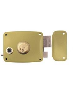 Cerradura 5125-b/12d hierro esmaltado de lince