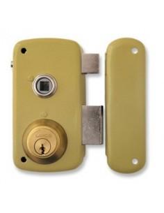 Cerradura 5056-b/70d hierro esmaltado de lince