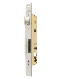 Cerradura puerta metalica 5530/32 acero inoxidable de lince