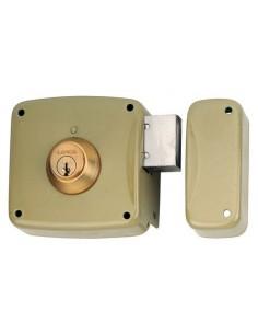 Cerradura 5124-a/12d hierro esmaltado de lince