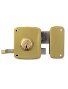 Cerradura 5125-a/12d hierro esmaltado de lince