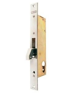 Cerradura puerta metalica 5572/25 acero inoxidable de lince