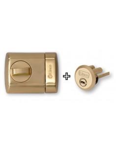 Cerrojo supra key 4930-hl latonado de lince