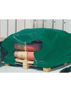 Toldo polietileno protex 80gr. 04x06mt. verde de nortene