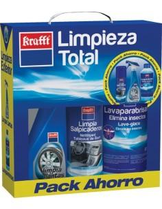 Kit auto limpieza total 17874 de krafft