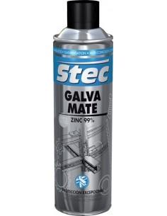 Spray galvanizado mate stec 31733 500ml de krafft caja de 12