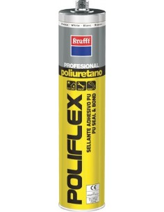 Masilla poliuretano poliflex 50043 marr. 300ml de krafft caja