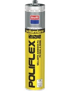 Masilla poliuretano poliflex 50023 blanco 300ml de krafft caja