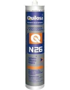 Silicona orbasil n-26 61929 neutra blanca de quilosa caja de 24