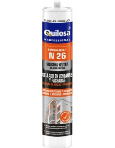 Silicona orbasil n-26 61903 neutra negro de quilosa caja de 24