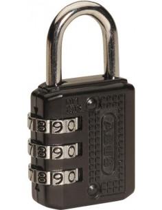 Candado combinación 715/30 negro de abus caja de 21 unidades