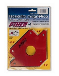 Escuadra q-2 mediana 110mm magnetica de piher