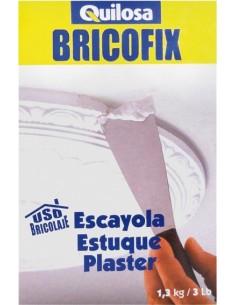 Bricofix escayola 88278-1,3kg. de quilosa caja de 10 unidades