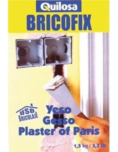 Bricofix yeso 88245-1,5kg de quilosa caja de 10 unidades