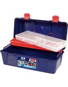 Caja herramientas 123009-23 con bandeja + es.356x184x163 de tayg
