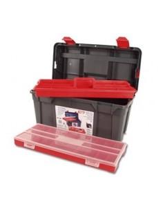 Caja herramientas 134005-34 con bandeja + es.580x285x290 de tayg