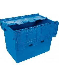 Euro caja con tapa 6444-t 600x400x440 75lt de tayg