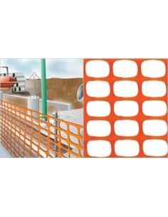 Malla señal masnet 3333-1.00 naranja r/50m de nortene