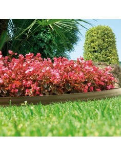 Bordura bark border 9cmx10m marron claro de nortene