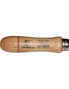 Mango lima madera barnizado 00100130 130 de manguenaje caja de