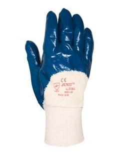 Guante nitrilo 9901 t-09/m azul de juba caja de 6 unidades