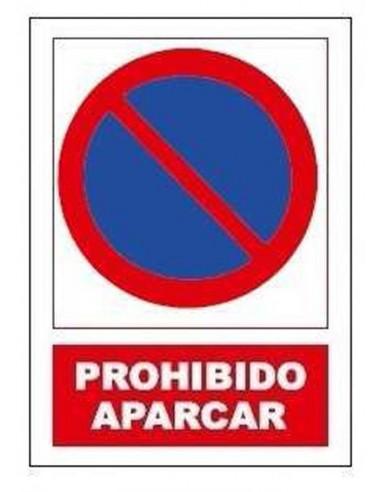 Señal prohibido aparcar sp885 de jg señalizacion