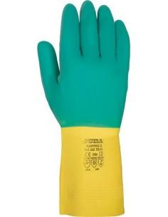 Guante latex 622 t-07/07,5 bicolor de juba caja de 12 unidades