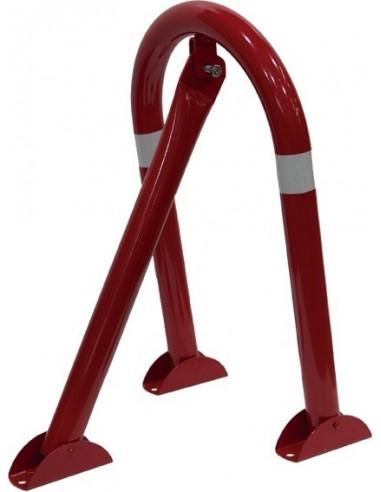 Cepo parking 31x57cm 421 lacado rojo de jg señalizacion
