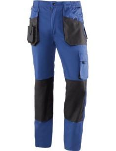 Pantalon top range 991 t-m azul/negro de juba