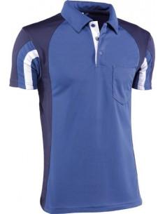 Polo premium cool way 920 t-xxl azul/gris/marino de juba