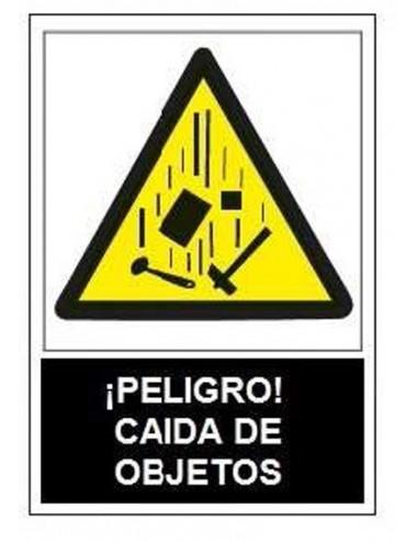 Señal advertencia peligro caida objetos sa1017 de jg