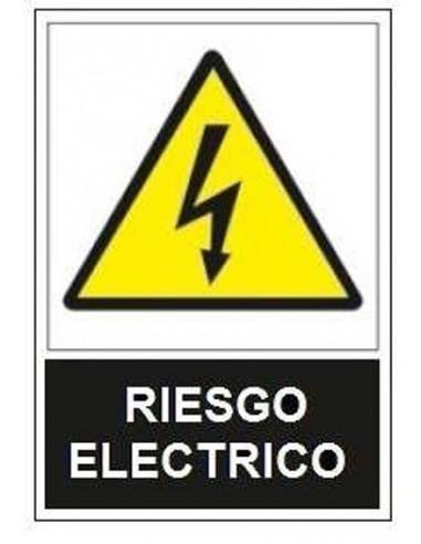 Señal advertencia riesgo electrico sa1000 de jg señalizacion