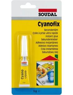 Adhesivo instantaneo cyano universal 03gr 100072 de soudal caja