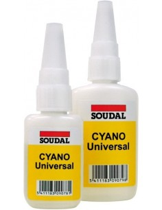 Adhesivo instantaneo cyano universal 50gr 127375 de soudal caja