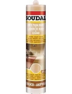 Sellador madera 300ml 125624 wengue de soudal caja de 6 unidades