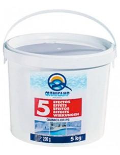 Cloro antialga quimiclor tabletas 200g.201805 de quimicamp caja