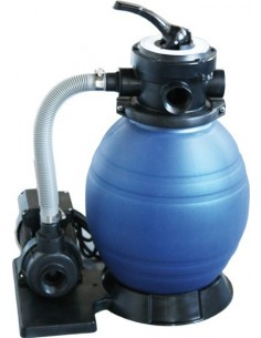 Filtro monoblock 300 + bomba 1/4hp 565090 de quimicamp