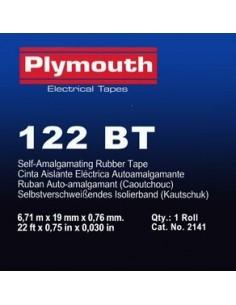 Cinta autosoldable bt 2141-6,7mx19mm negra de plymouth