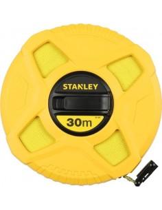 Cinta métrica cerrada fibra de vidrio 034297-30m de stanley