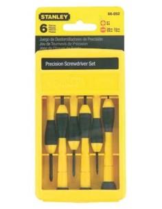 Destornillador precisión juego 6pz 066052 de stanley