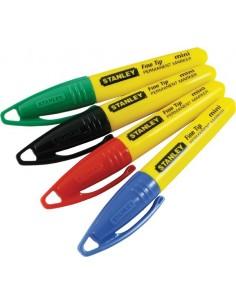 Marcador punta fina mini 147329 multicolores de stanley