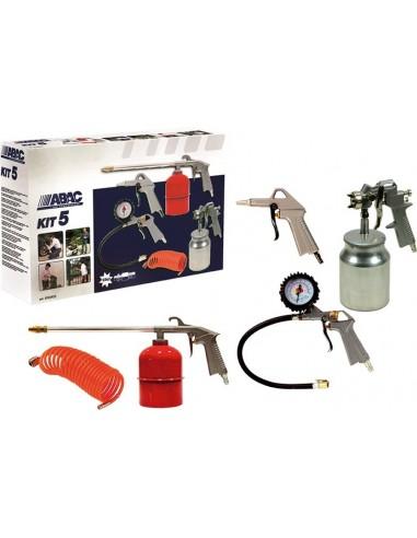 Kit pistolas pintar 5pz 8973005546 de abac