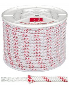 Bobina cuerda trenzada poliester 10mm/100mt de rombull ronets