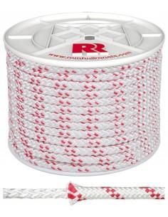 Bobina cuerda trenzada poliester 12mm/100mt de rombull ronets